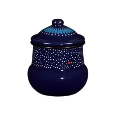 Wild & Wolf Folklore Enamel Sugar Pot, 500ml