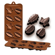 Ibili Hojas Silicone Leaf Chocolate Mould