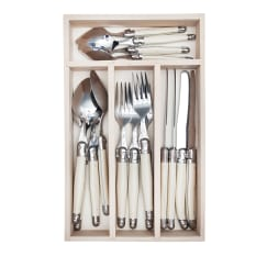 Laguiole by Andre Verdier Cutlery Set, Set of 16