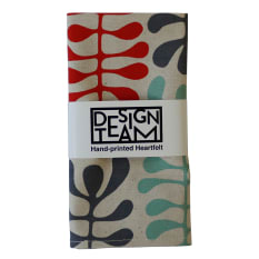 Design Team Screen Printed Napkins, Set of 2