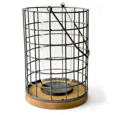 Sarah Jane Round Metal Lantern