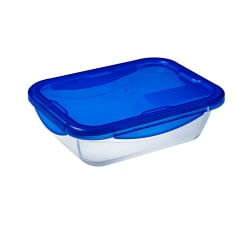 Pyrex Cook & Go Rectangular Roaster with Lock Lid