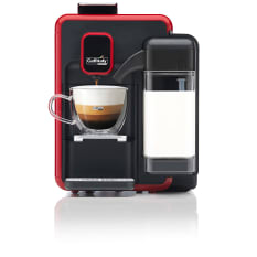 Caffitaly 950W Capsule Coffee Machine with Integrated Milk Frother, S22