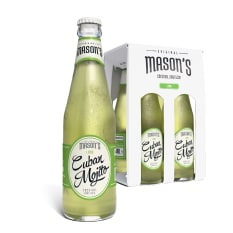 Original Mason's Cuban Mojito Cocktail Spritzer, Pack of 4
