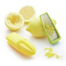 KitchenCraft 2-in-1 Citrus Reamer & Zester