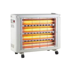 Elegance 4 Bar Quartz Heater with Humidifier, 2000W