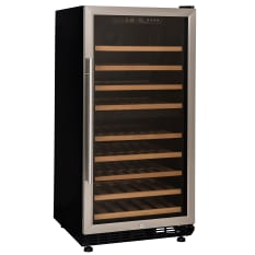 Warrior Dual Zone Wine Cooler, 72 Bottle