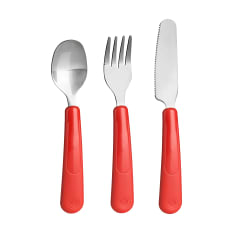 Trudeau Leon 3 Piece Kids Cutlery Set