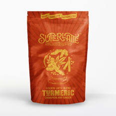 Superlatte Turmeric, Cinnamon & Ginger Golden Latte Blend, 200g