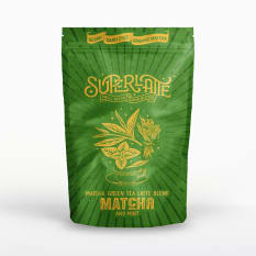 Superlatte Matcha Green Tea & Mint Latte Blend, 200g
