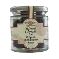 Terre Exotique Mexican Dried Chipotle Chilli Peppers, 30g
