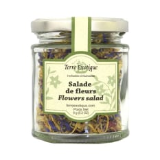 Terre Exotique Dried Edible Flowers for Salad, 6g