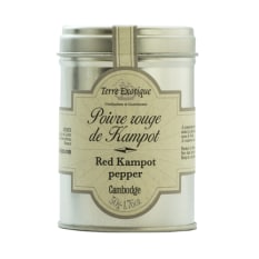 Terre Exotique Cambodian Red Kampot Peppercorns, 50g