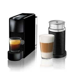 Nespresso Essenza Bundle 1450W Mini Automatic Espresso Machine with Aeroccino Milk Frother