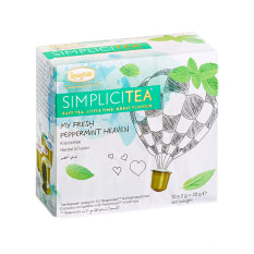 Ronnefeldt Simplicitea Fresh Peppermint Heaven Tea Capsules