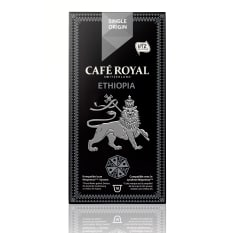 Cafe Royal Ethiopia Single Origin Coffee Capsules, Pack of 10