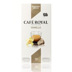 Cafe Royal Vanilla Flavoured Edition Coffee Capsules, Pack of 10