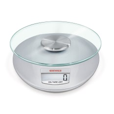 Soehnle Roma Silver Digital Kitchen Scale
