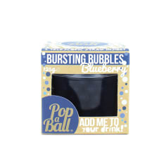 Popaball Blueberry Fruit Juice Bubbles, 125g