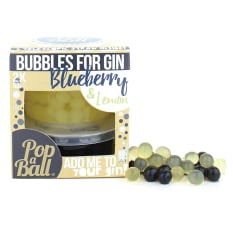 Popaball Blueberry & Lemon Fruit Juice Bubbles, Pack of 2