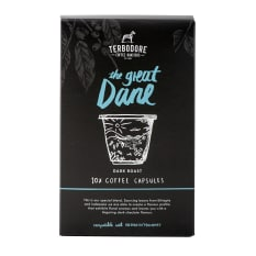 Terbodore Coffee Roasters The Great Dane Coffee Capsules, Pack of 10