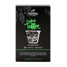 Terbodore Coffee Roasters English Toffee Coffee Capsules, Pack of 10