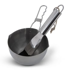 Megamaster Stainless Steel Pot & Basting Brush