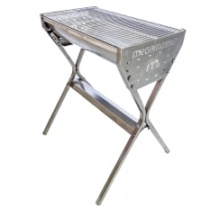 Megamaster 700 Barrel Stainless Steel Charcoal Braai