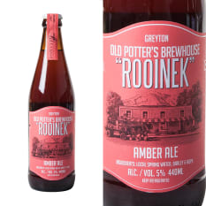 Old Potter's Brewhouse Rooinek Amber Ale