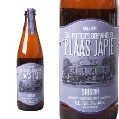 Old Potter's Brewhouse Plaas Japie Saison