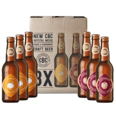 Cape Brewing Company Peach & Raspberry Weiss Mixed Pack