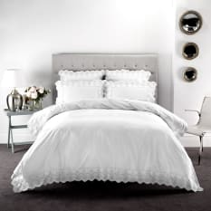Linen House Pearl Duvet Cover Set