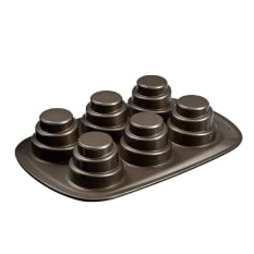 Pyrex Asimetria Layered Mini Cake Pan, 6 Cups