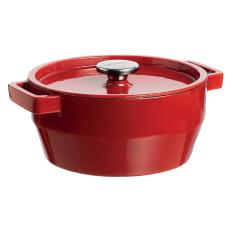Pyrex Slow Cook Cast Iron Round Casserole, 3.6 Litre