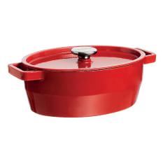 Pyrex Slow Cook Cast Iron Oval Casserole, 3.8 Litre
