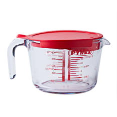 Pyrex Classic Measuring Jug with Lid, 1L