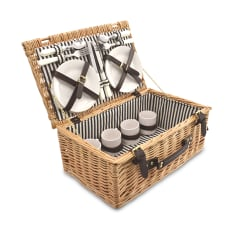 Eco Wicky Wicker Family Picnic Basket