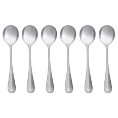 Humble & Mash Mara 6 Piece Soup Spoon Set