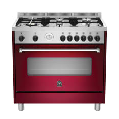 La Germania Americana Gas Hob & Electric Oven, 90cm