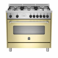 La Germania Americana Gas Hob with Gas Oven & Grill, 90cm