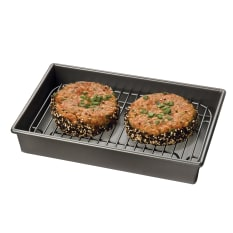 Chicago Metallic Petite Roasting Pan with Rack
