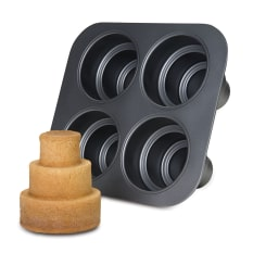 Chicago Metallic Non-Stick 3 Tier Mini Cake Pan