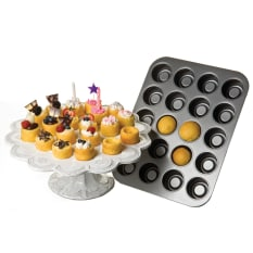 Chicago Metallic 20 Hole Mini Tea Cake Pan