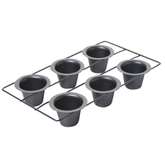 Chicago Metallic 6 Hole Popover Muffin Pan