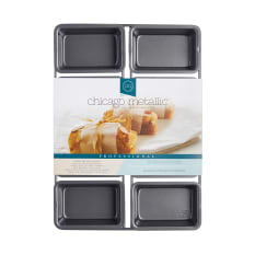 Chicago Metallic 8 Hole Mini Loaf Pan