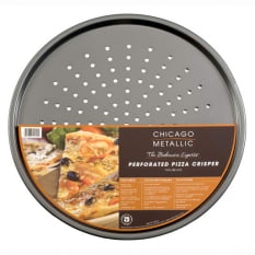 Chicago Metallic Non-Stick Perforated Pizza Crisper, 35.5cm