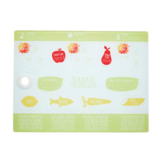 Kitchen Craft Healthy Eating Glass Worktop Protector