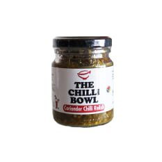 The Chilli Bowl Coriander Chilli Relish, 120g
