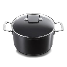 Le Creuset Toughened Non-Stick Stock Pot with Lid, 24cm