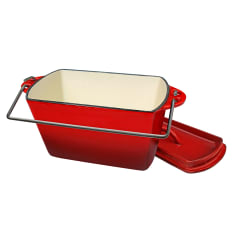 LK's Cast Iron Enamel Bread Pot, 2.2 Litre